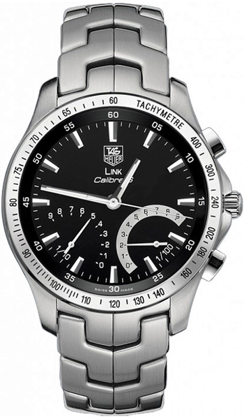 Tag Heuer Link Series Wonderful Quality Calibre S Chronograph Mens Watch-CJF7110.BA0587