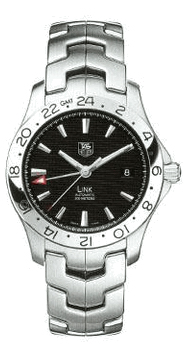 Tag Heuer Link Series Fashionable GMT Automatic Mens Watch-WJF2116.BA0570