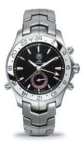 Tag Heuer Link Automatic GMT Series Stylish Design Mens Watch-WJF2115.BA0587