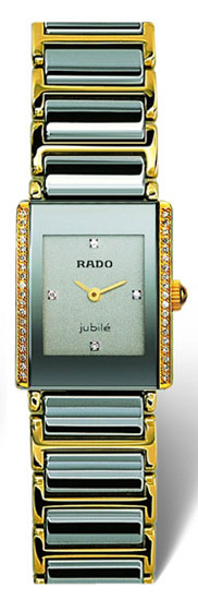 Rado Integral Series Platinum-tone Ceramic Ladies Watch R20339752
