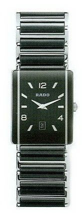 Rado Integral Series Midsize Black Ceramic Quartz Unisex Watch R20486152