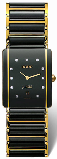 Rado Integral Series Quartz Mens Watch R20282732 in Black