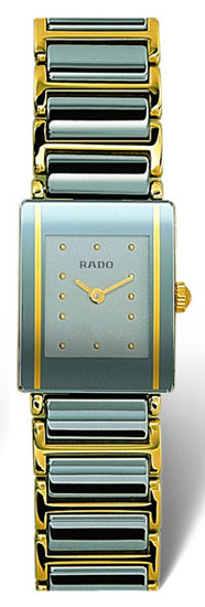 Rado Integral Series Scratch Resistant Ceramic Quartz Ladies Watch R20383142