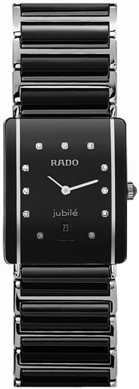 Rado Integral Jubile Series Diamond Black Ceramic Steel Unisex Watch R20486742