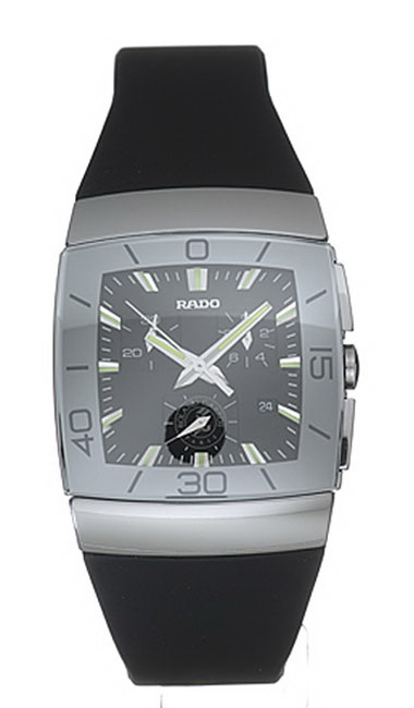 Rado Sintra Series Scratchproof Ceramic Chronograph Mens Watch-R13600029