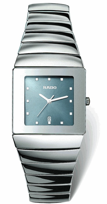 Rado Sintra Series Platinum-Tone Ceramic Mens Watch-R1342202
