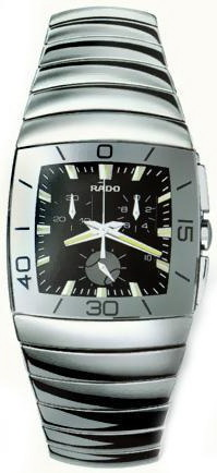 Rado Sintra Series Ceramic Chronograph Mens Watch-R13600012