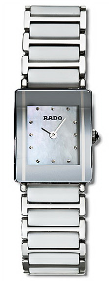 Rado Integral Series Ceramic Steel Quartz Ladies Watch R20488902