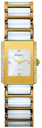 Rado Integral Series Gold-tone Ceramic Quartz Ladies Watch R20339902