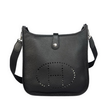 Hermes Evelyn Bag Original Calf Leather H1608 Black