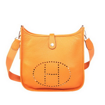Hermes Evelyn Bag Original Calf Leather H1608 Orange