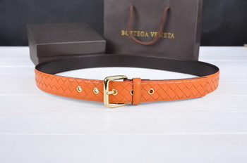 Bottega Veneta Intrecciato Nappa Belt 274483 Orange