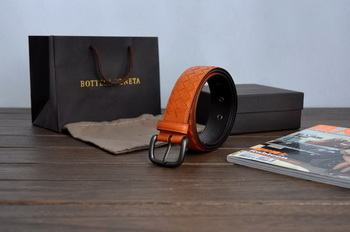Bottega Veneta Intrecciato Nappa Belt 274484 Orange