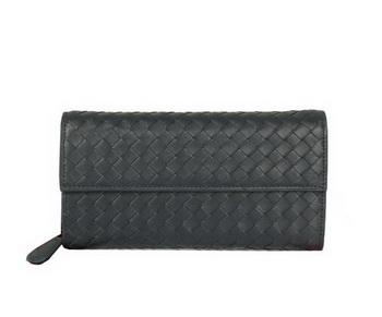Bottega Veneta Intrecciato Nappa Continental Wallet 5809 RoyalBlue