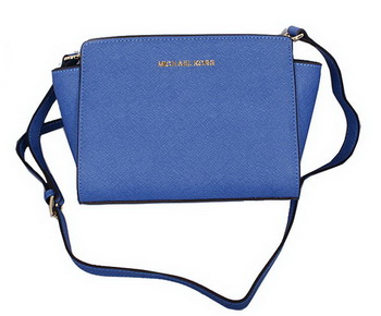 Michael Kors Mini Selma Messenger Bag MK8710 RoyalBlue