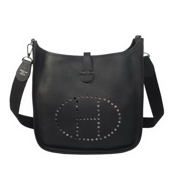 Hermes Evelyne Messenger Bag H1608 Black