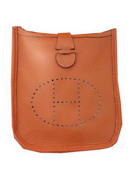 Hermes mini Evelyne Messenger Bag H1608S Orange