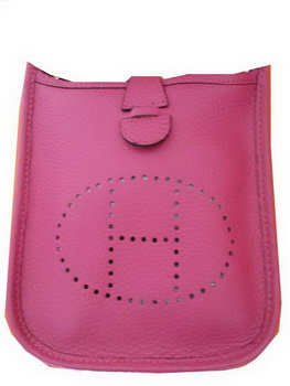 Hermes mini Evelyne Messenger Bag H1608S Rosy