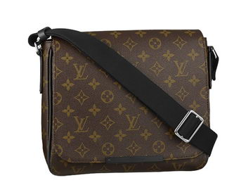LOUIS VUITTON M40935 MONOGRAM MACASSAR DISTRICT PM