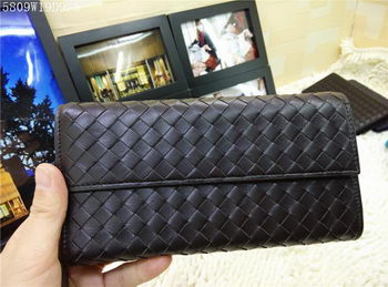 Bottega Veneta Intrecciato Nappa Continental Wallets 5809 Brown