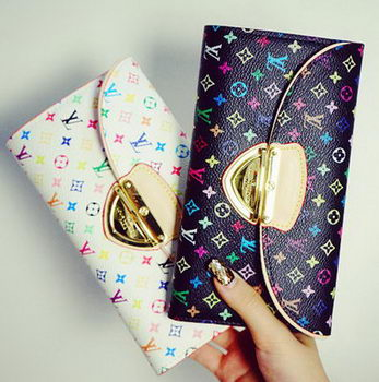 Louis Vuitton Monogram Multicolore Eugenie Wallet M60123