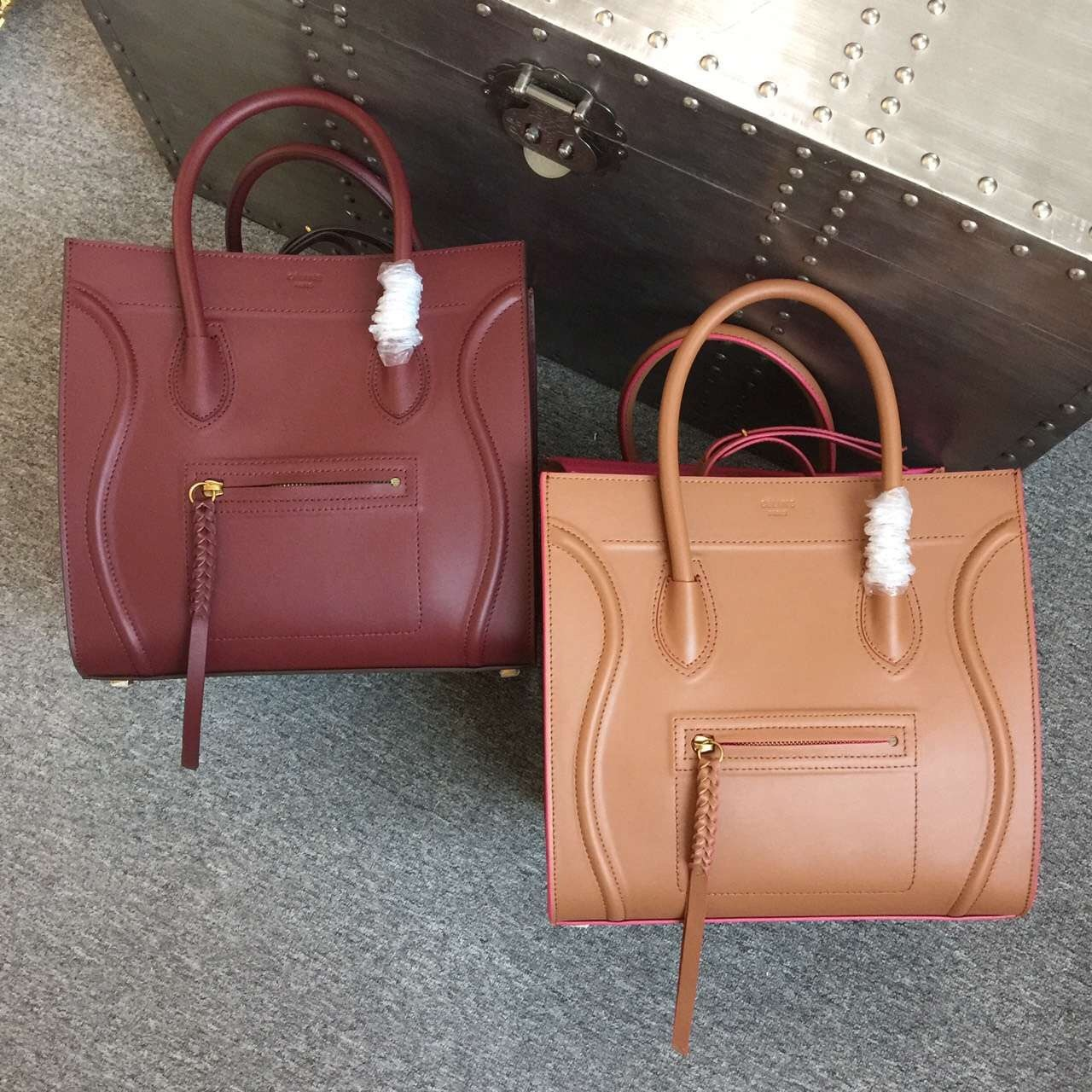 Celine Luggage Mini Shopper Bag Original Leather 98178