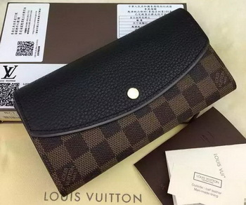 Louis Vuitton Damier Ebene Canvas NORMANDY WALLET N61261