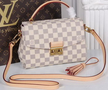 Louis Vuitton Damier Azur Canvas CROISETTE Bag N41581