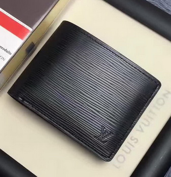 Louis Vuitton Epi Leather MULTIPLE WALLET M60628 Black