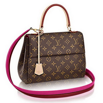 Louis Vuitton Monogram Canvas CLUNY BB M42738