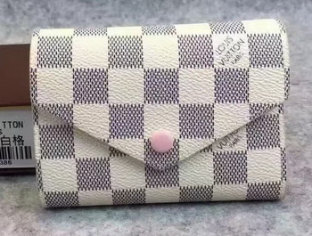 Louis Vuitton Damier Azur Canvas Victorine Wallet N62360