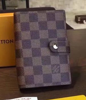 Louis Vuitton Damier Ebene Canvas DESK AGENDA NOTES REFILL N20006