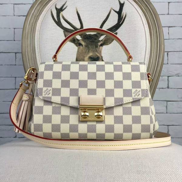 Louis Vuitton Damier Azur Canvas CROISETTE Bag 41581