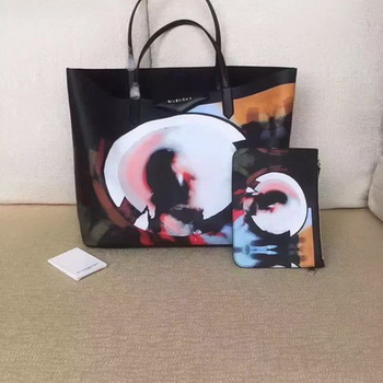 Givenchy Print Large Shopper Bag G6598C Black