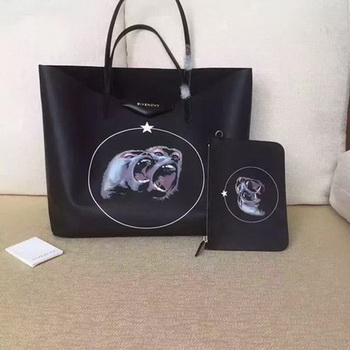 Givenchy Print Large Shopper Bag G6598D Black