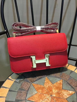 Hermes Constance Bag Calfskin Leather H9978 Red