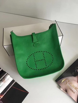 Hermes Evelyne 30cm Messenger Bag E3301 Green