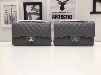 Chanel 2.55 Series Flap Bags Original Sheepskin A1112 Grey