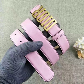 Dior 30mm Leather Belt CD2365 Pink