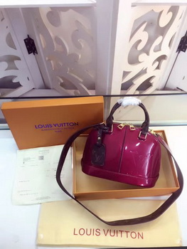 Louis Vuitton Monogram Vernis ALMA BB M54785 Rose