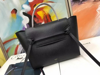 Celine Belt Bag Original Palm Skin Leather C3349 Black