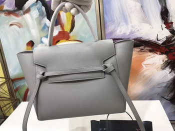 Celine Belt Bag Original Palm Skin Leather C3349 Grey