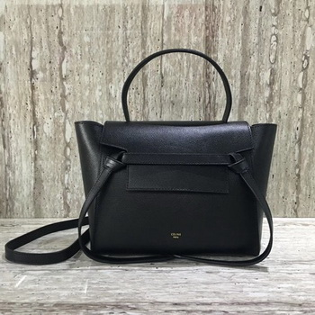 Celine Belt mini Bag Original Leather C98310 Black