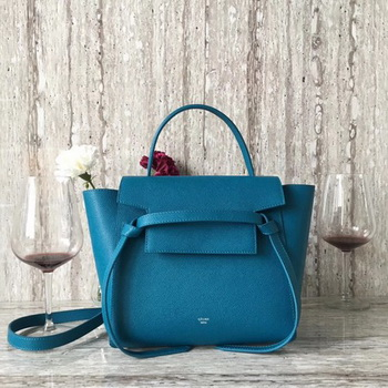 Celine Belt mini Bag Original Leather C98310 Blue