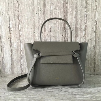 Celine Belt mini Bag Original Leather C98310 Grey