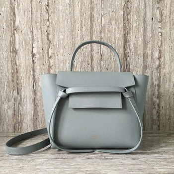 Celine Belt mini Bag Original Leather C98310 Light Blue