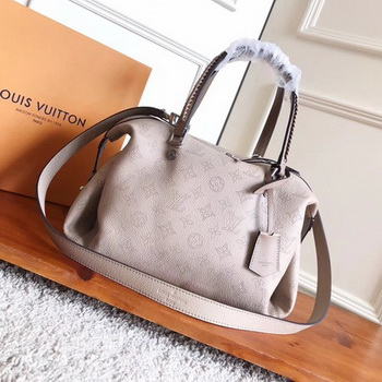 Louis Vuitton Mahina Leather ASTERIA Bag M54672 OffWhite