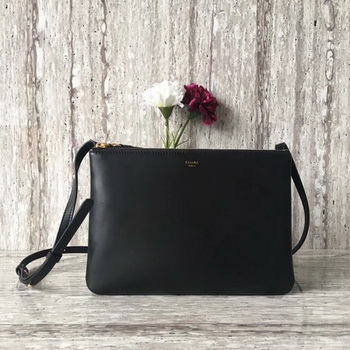 Celine Trio Crossbody Messenger Bag C55421 Black