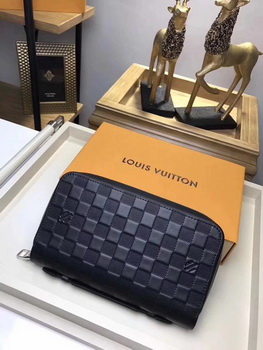Louis Vuitton Damier Infini Leather ZIPPY XL WALLET N61254