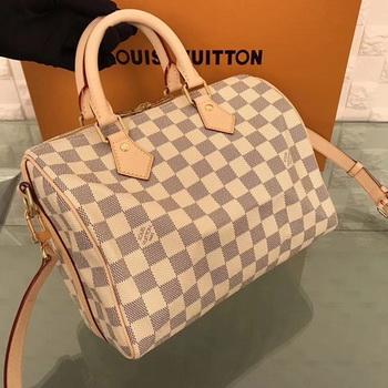 Louis Vuitton Damier Azur Canvas SPEEDY BANDOULIERE 25 N41374